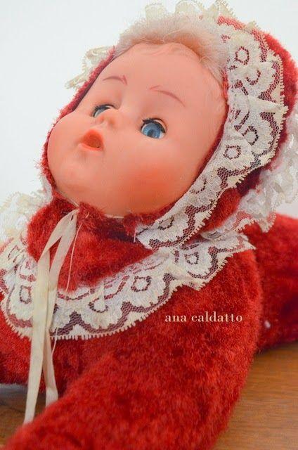 Ana Caldatto : Lembra da Boneca Dorminhoca sobre a colcha de Chenille?