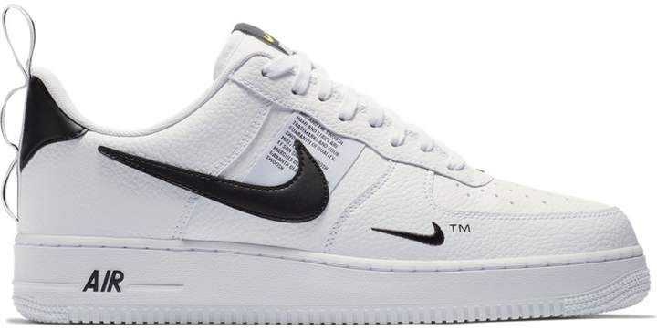 size 40 13d3f 4ba67 Air Force 1 Low Utility White Black (GS) in 2019   Shoes   Nike force 1, Air  force 1 outfit, Sneakers nike