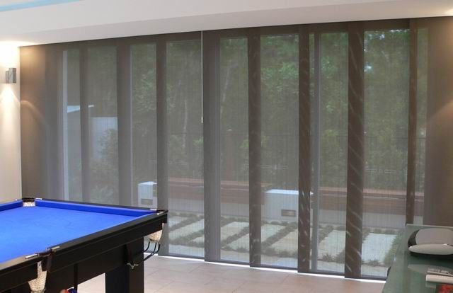 Bifold Doors Panel Blinds All About Window Dressing