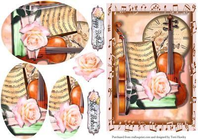 birthday music on Craftsuprint - Add To Basket!