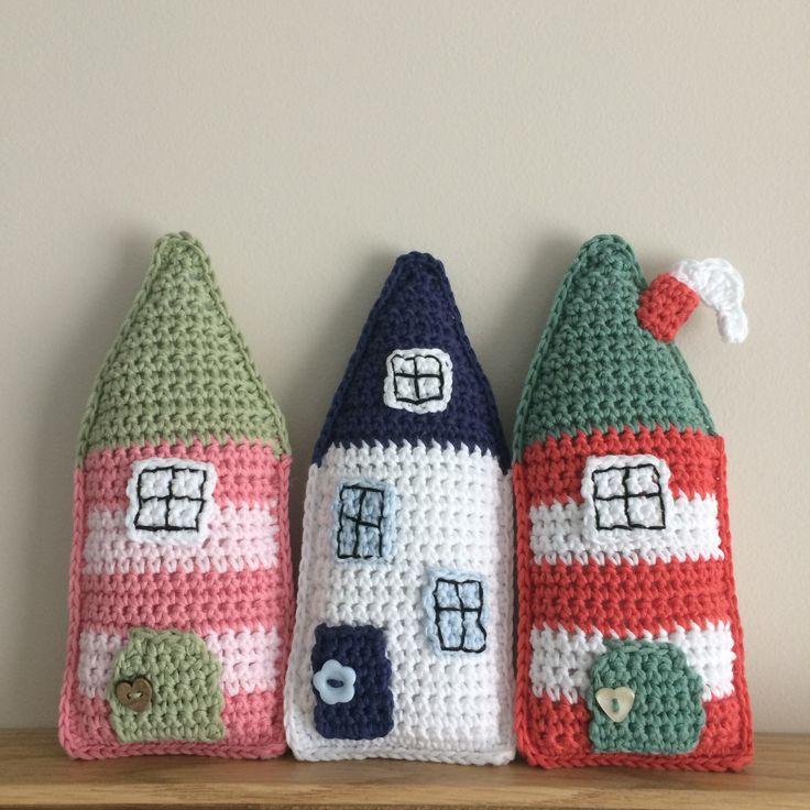 Crochet House Pattern - Little Folk House                                                                                                                                                                                 More