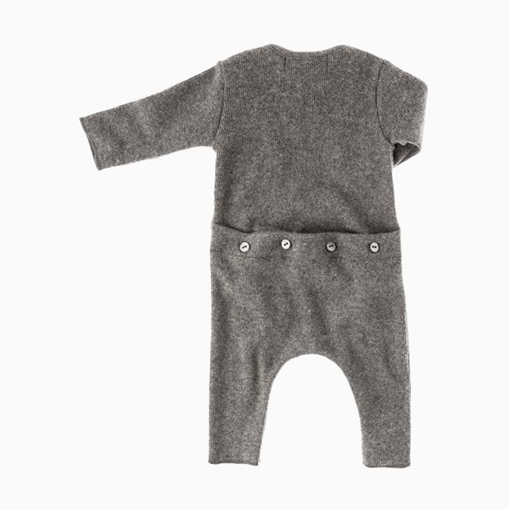 maxim baby jumpsuit (grey)