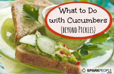 Take Cucumbers beyond Pickles