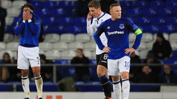David Unsworth: Everton 'hurting' after capitulation against Atalanta