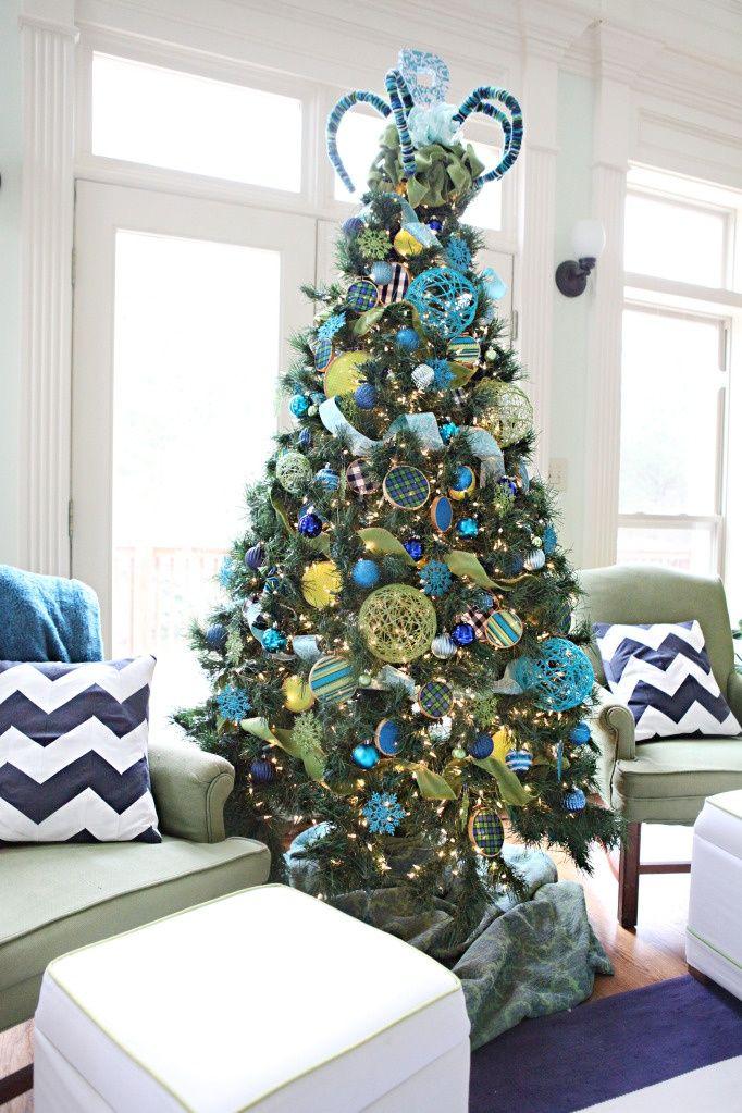 christmas tree decoration ideas todayseverymom - Christmas Tree Decorations Ideas 2014