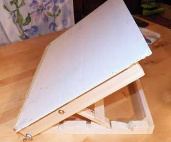 Table Easel with drawing board