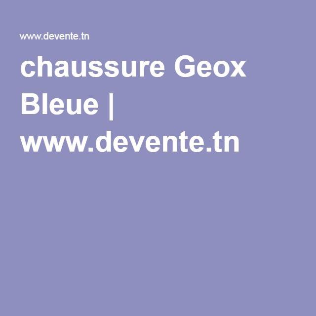 chaussure Geox Bleue   www.devente.tn