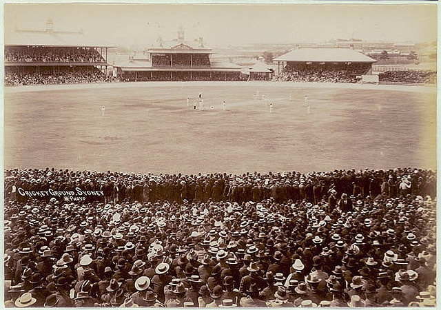 Sydney Cricket Ground, ca. 1900-1910 / Star Photo Co.  Format: Albumen photoprint     Notes: Find out more about our passion for cricket at Discover Collections - Cricket in Australia www.sl.nsw.gov.au/discover_collections/society_art/cricke...    From the collections of the Mitchell Library, State Library of New South Wales www.sl.nsw.gov.au  Persistent url: http://acms.sl.nsw.gov.au/item/itemDetailPaged.aspx?itemID=413547