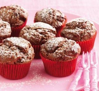 Mini choc muffins