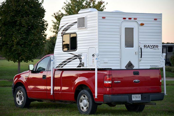 rayzr fb truck camper on a half ton ford f150. Black Bedroom Furniture Sets. Home Design Ideas