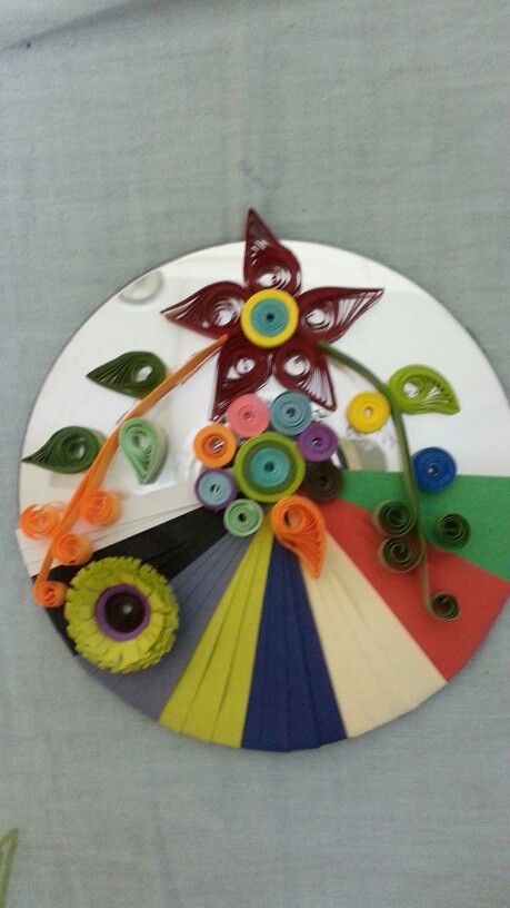 cd as wall hanging