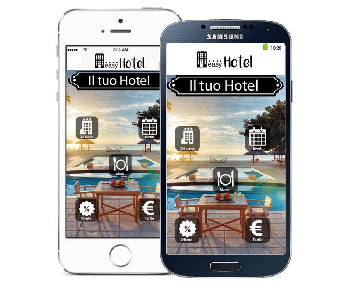 Cerchi l'#app perfetta per il tuo #hotel? Noi abbiamo la soluzione giusta per te: #myeasyhotel. Disponibile per #iOS e #Android su #applestore e #googleplay. Scopri di più!