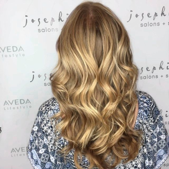 Blonde hair by Josephine's Day Spa & Salon Houston, Texas