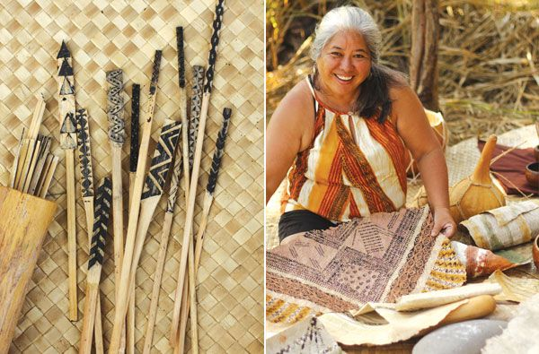 Learn about the Hawaiian art of kapa making and visit the Maui Arts & Cultural Center's latest exhibit on this ancient cultural practice.
