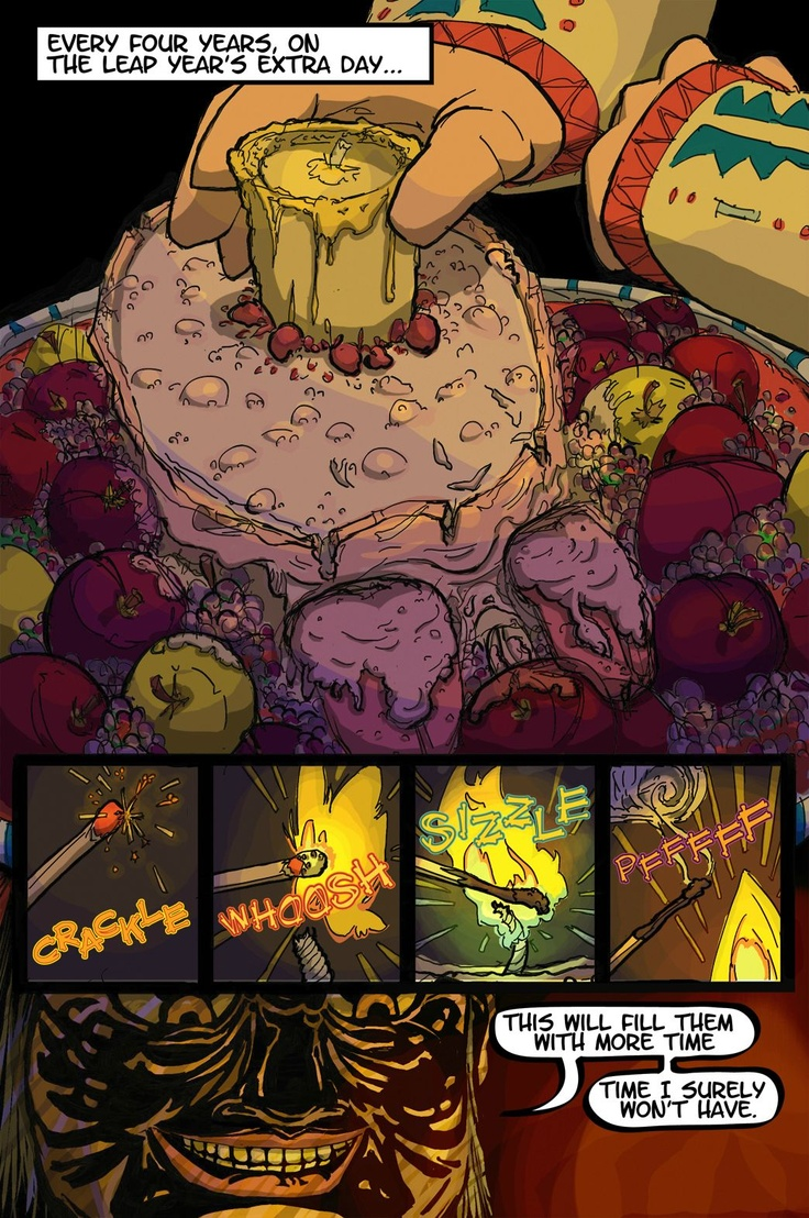 Inquest of Missing Time comic book Vol 1  Page 3