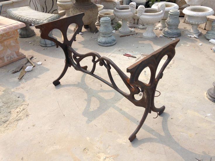 Thegatz   French Art Nouveau Design Cast Iron Bistro Table Base, $995.00  (http: