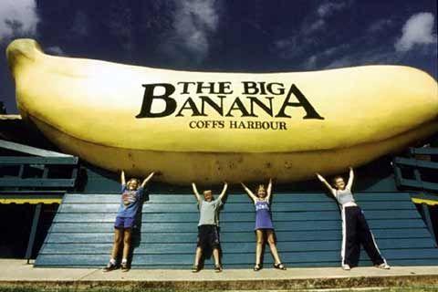 Big things of Australia - Coffs Banana