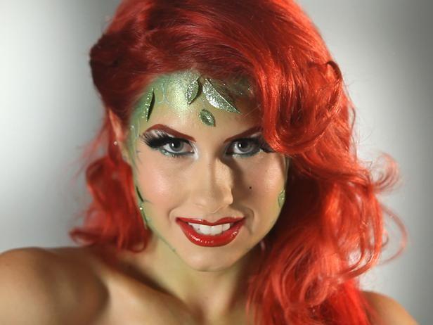 Garden Goddess Makeup - DIY Halloween Costumes and Makeup Tricks on HGTV