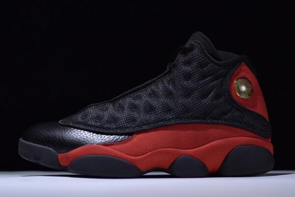 "080adf081a28 Air Jordan 13 Retro ""Bred"" Black True Red-White 414571-004"