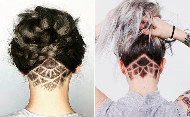 Dieses Jahr kommt der Undercut zurück - mit einem kleinen Extra: Jetzt werden kreative Muster ins Haar rasiert!