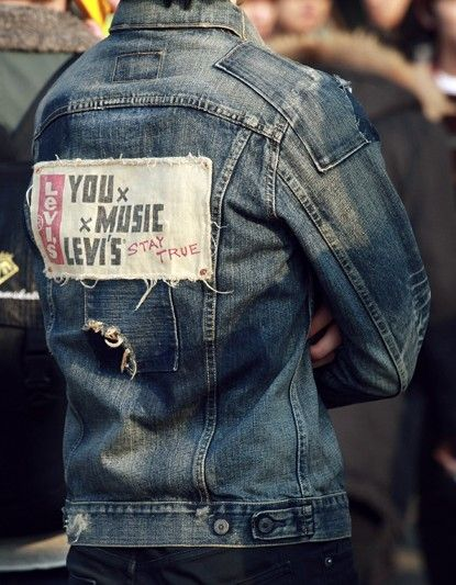 Levi S Custom Jean Jacket Mens Vintage Denim Denim Jacket Men