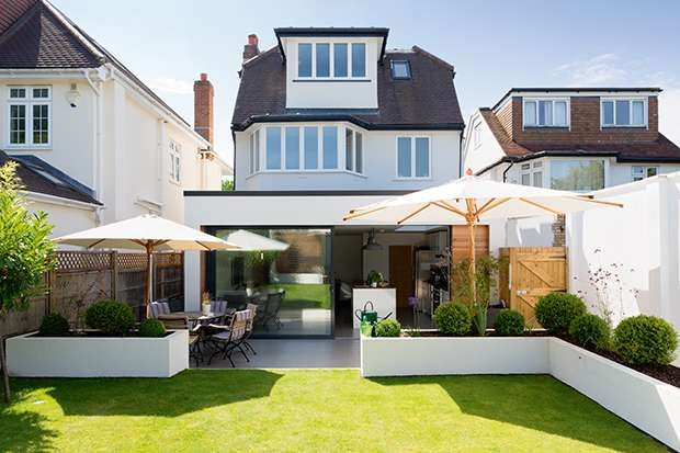 Rear extension within permitted development rights | Real Homes