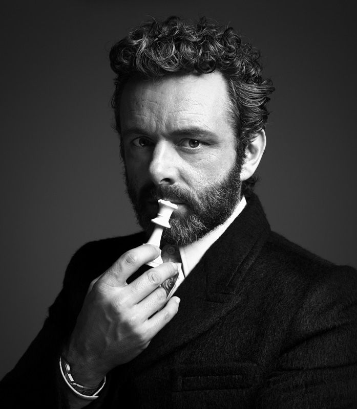 Rankin; Michael Sheen Hunger Editorial Portrait Mighty Blighty