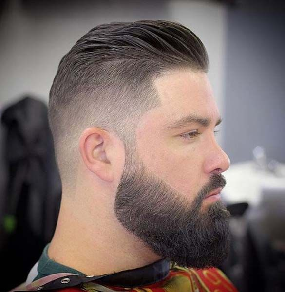 Cool Hairstyle And Beard For Men's 2018