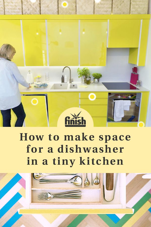 No Kitchen Is Too Small For A Dishwasher! Take A 360° Tour Of Six