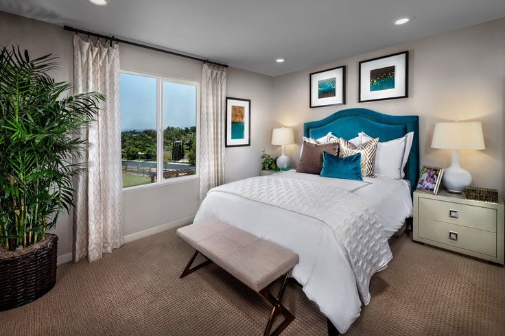 New Homes in San Marcos, CA - Mission Villas - Mission Terrace Residence Two - Master Bedroom