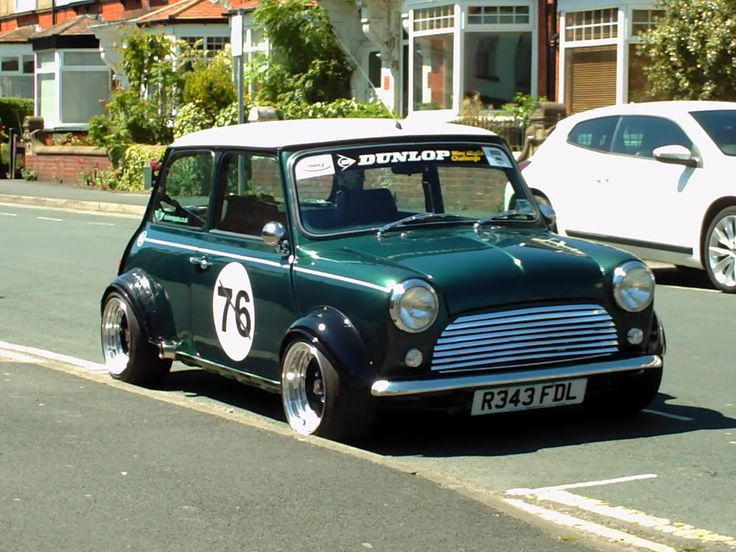 1998 Mini Cooper wide retro race look | Retro Rides