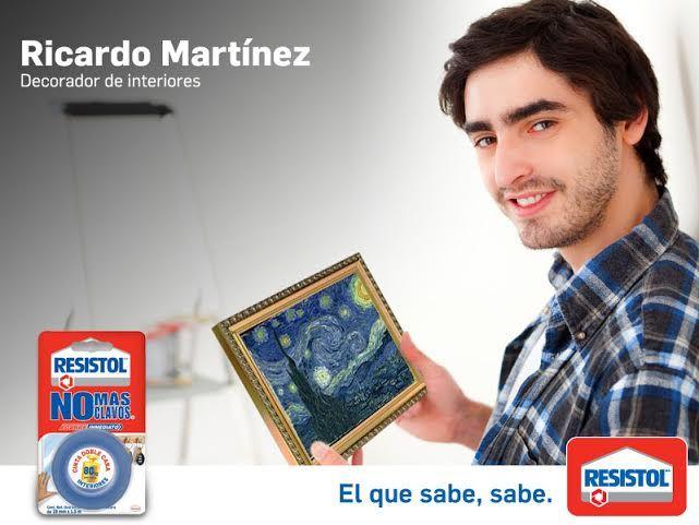 Ricardo mart nez decorador de interiores recomienda - No mas clavos para colgar cuadros ...