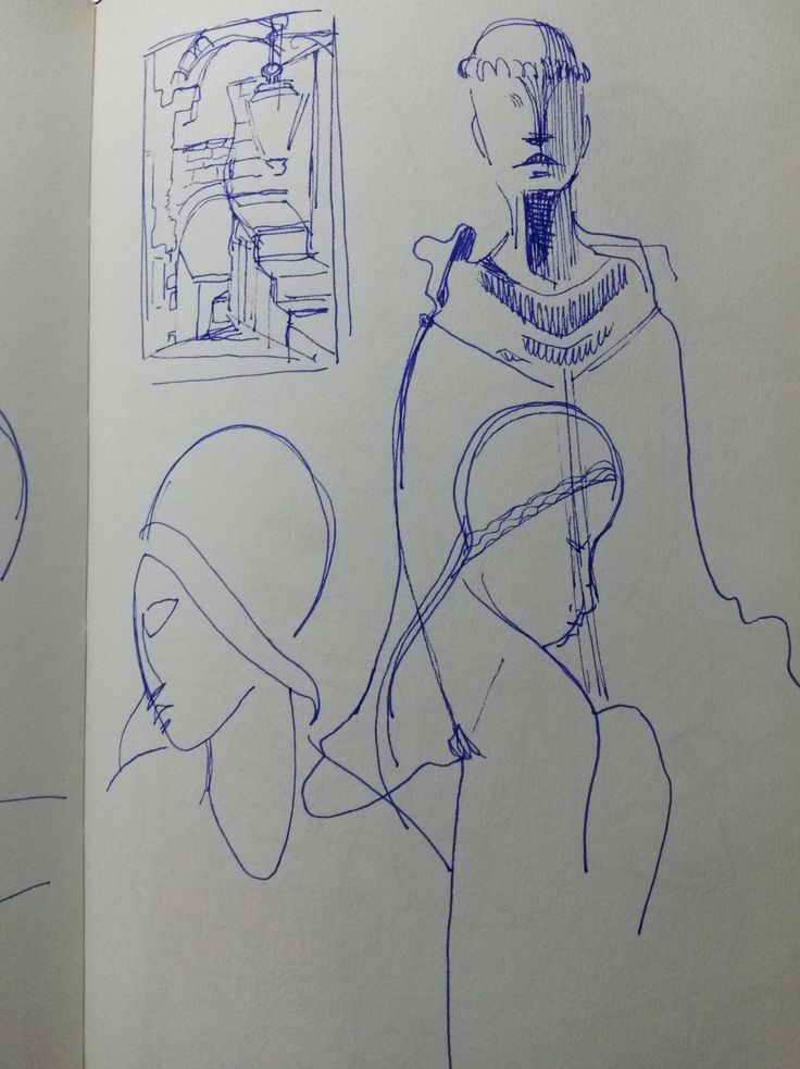 Sketchbook- Study - Victor Brecheret