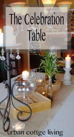 The Celebration Table Cottage Dining RoomsUrban