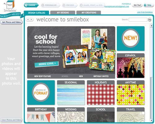 Smilebox, para presentar tus fotos con imaginación | Nuevas tecnologías aplicadas a la educación | Educa con TIC