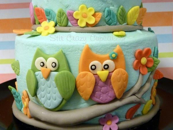 uil taart uil-feestje-inspiratie