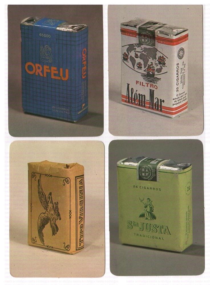 cigarros marcas antigas santa nostalgia