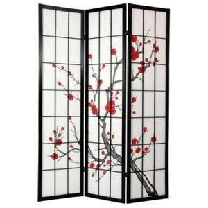 Japanese brush art rendering of a cherry tree in bbloom.....so feminine.