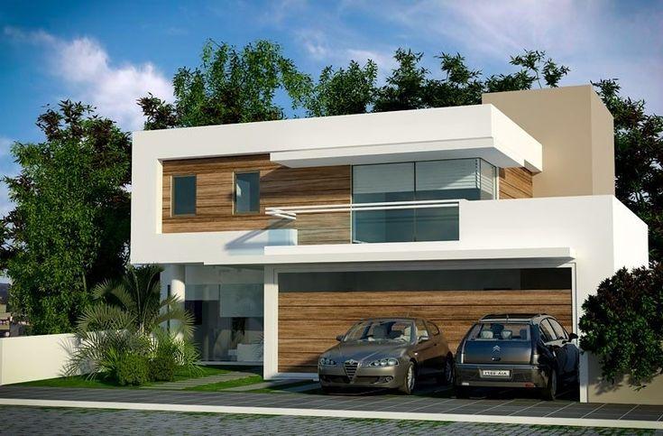 Fachadas de casas 3 pavimentos pesquisa google for Fachadas de casas modernas 1 pavimento