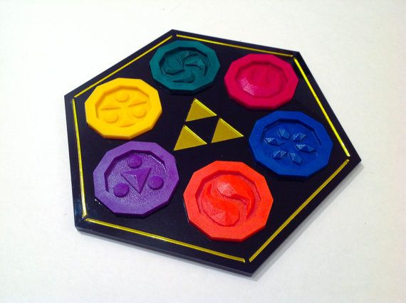 Zelda Sage Medallions The Sages add their Power by ChinookCrafts