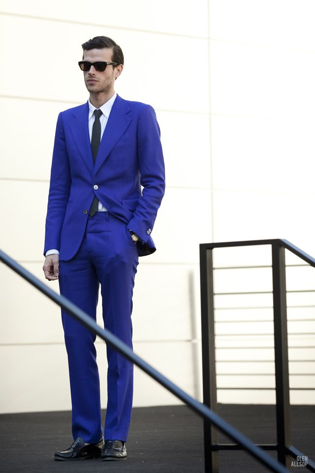 1000  images about Suits - Royal blue on Pinterest | Men's outfits