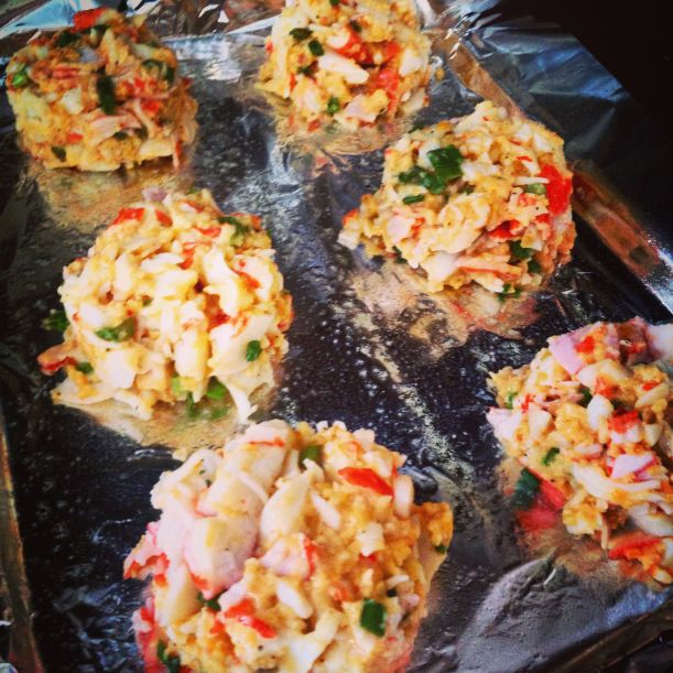 21 day fix approved crab cakes