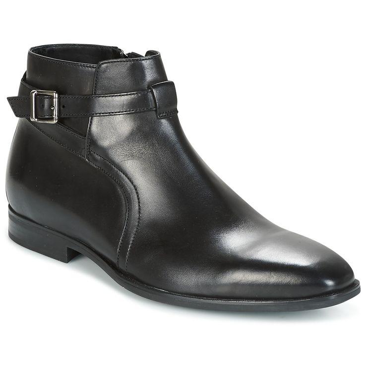 Geox U NEW LIFE Noir pas cher prix Boots Homme Spartoo 159.00 €