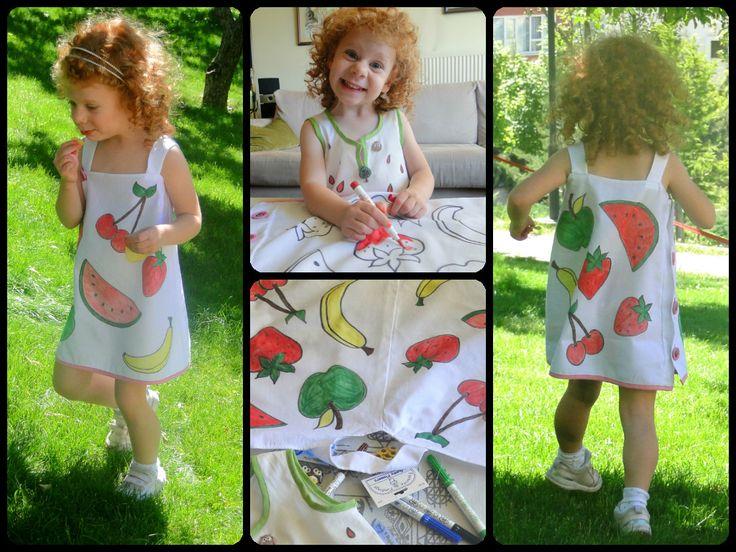 My Little Fruit Basket Children's clothing. Sipariş için: formylittledesigner@gmail.com