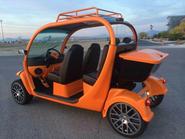 Tangelope orange Custom Gem car by Innovation Motorsports