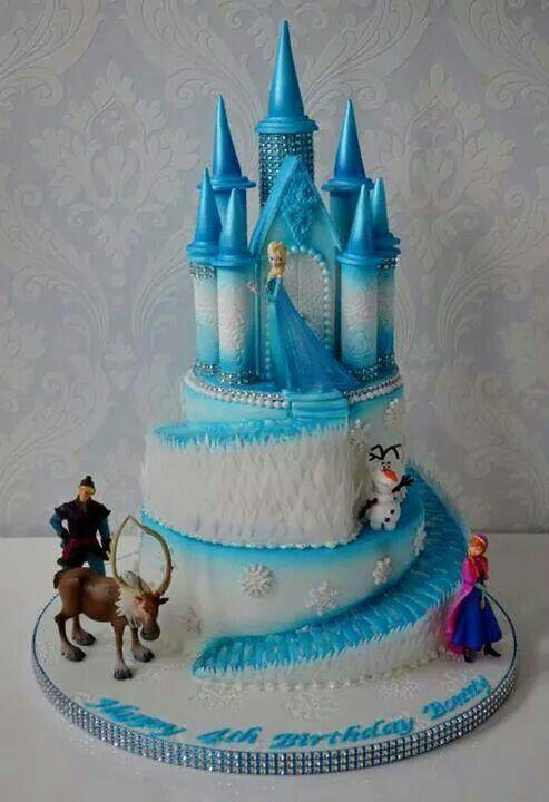 Frozen Castle Cake                                                                                                                                                                                 Más