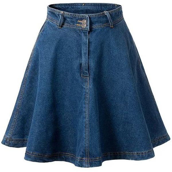 best 20 high waisted denim skirt ideas on