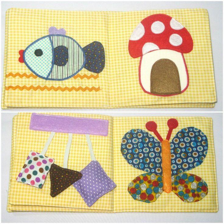 Ecco le idee più belle per realizzare con il fai da te i libri in stoffa per bambini.