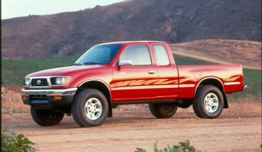 1995 Toyota Tacoma Review - http://whatmycarworth.com/1995-toyota-tacoma-review/