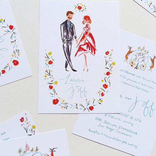 Pretty Paperie: 101 Inspiring Wedding Invitations